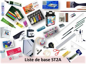 LISTE COMPLETE ST2A : 33% de réduction sur les prix magasin !